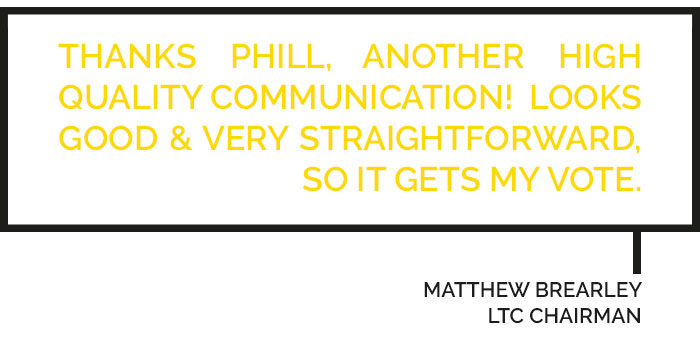 LTC Mailchimp Testimonial