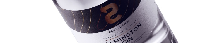 Dancing Cows Lymington Gin © Phill Brown Design